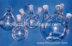 all kinds of quartz multi-necked flask