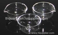 Quartz evaporating dish a b c