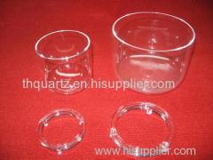 Quartz evaporating dish quartz tube