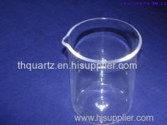 High temperature quartz beaker instrument
