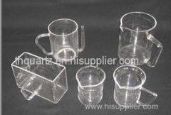 quartz beaker A B C