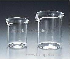Quartz beaker quartz tube