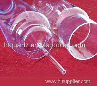 Quartz bubble shell quartz tube