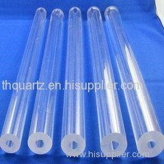 Thick walled quartz tube