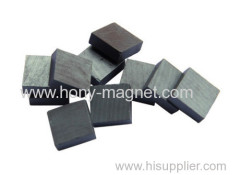 Grey epoxy coating bonded neodymium magnets square