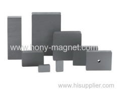 Good performance block neodymium loudspeaker magnet