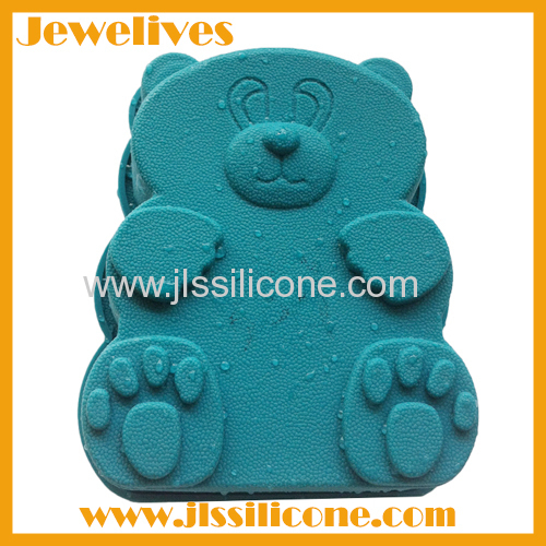 Bear shape silicone cake mold waterproof