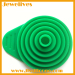 Colorful Silicone collapsible funnel
