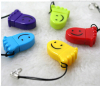 happy foot shape plastic usb single card reader OEM accepted small storage card with string hole Card Reader