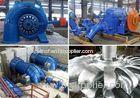 200kW Reliable Hydralic Power Generator, Water Turbine With Automatic Control Systems