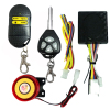 one way motorcycle security alarm system