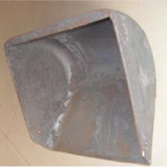 Livestock equipment cast iron trough