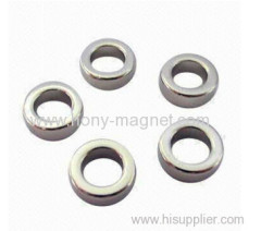 High grade diametrically magnetized ring magnets