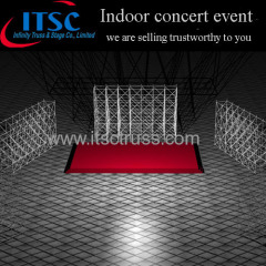 Layer Truss Scaffolding Stage System for Indoor Concert Events