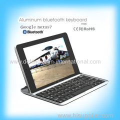 China supply Low price aluminum bluetooth keyboard