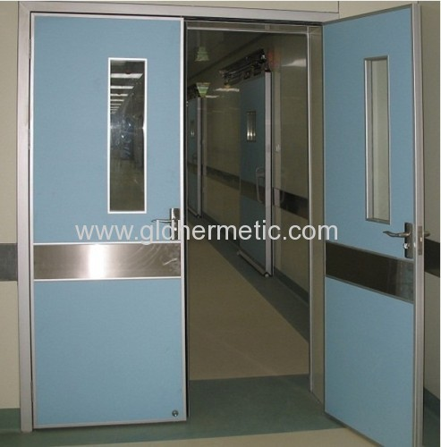 hermetically sealing swing double open doors with aluminum