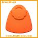 Orange handbag shape silicone cake mold