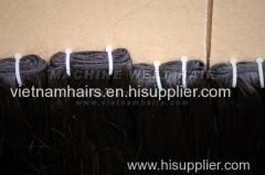 Silky straight weaving & bulk hair