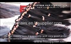 human hair (weft and bulk hair)