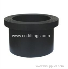 hdpe butt fusion injection stub end flange pipe fittings