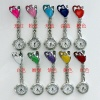 high quality 10 candy colors fashion charms jewelry quartz nurse medical nurse watch for pin