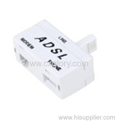 High Quality Rj11 ADSL Splitter UK Type