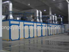 Fast drying chamber for body and tooling