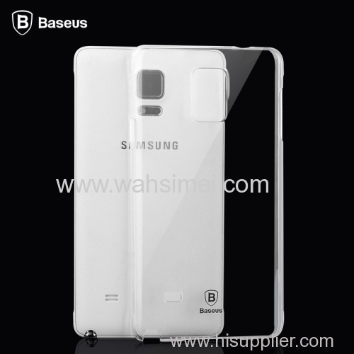 Samsung New design Galaxy Note 4 aether transparent and thickness TPU cover China factory