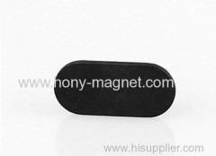 high quality ndfeb oval magnet