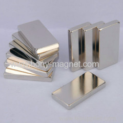 Zn coating rare earth ndfeb bar magnet