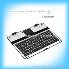 High quality hot sale thin aluminum bluetooth keyboard