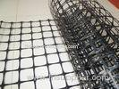 Polypropylene PP Biaxial Geogrid Plastic For Water Channels 15KN 50KN