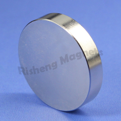 NdFeB Magnete N42 disc magnet D40 x 10mm Axial magnetization thick Strong Magnets for sale