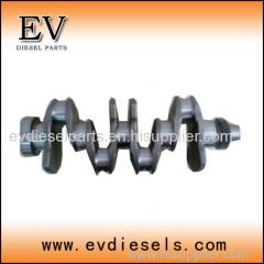KUBOTA parts crankshaft V3800 V2403 V2203 V3300 crankshaft