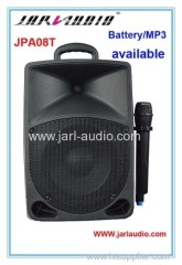 8inch portable battery speakers with MP3 player