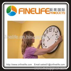 High quality 10'' Round plastic quartz wall clock