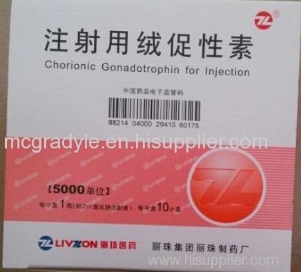 HCG 5000 iu * 10vials 보디 빌딩 지방 굽기 지방 컷 지방 잃을 191AA