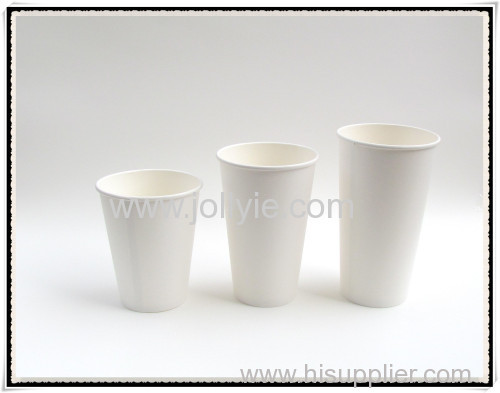 12oz PLA disposable paper cups for coffee