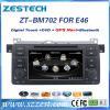 ZESTECH Wholesales oem radio double din car dvd for bmw e46 gps navigation sat nav car head units multimedia system