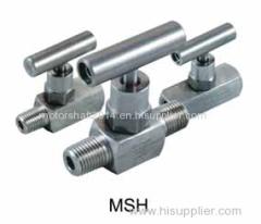 MSH Mini Needle Valve