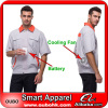Work Clothes With Automatic Cooling System Battery Cooling Clothing Outdoor Working OUBOHK