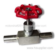 the weld needle valve