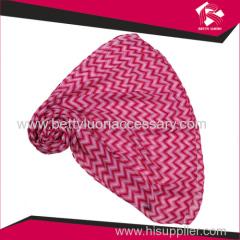 Ladies polyester woven scarf