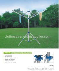 portable washing line airer