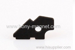 Zn coating segment sintered ndfeb magnet