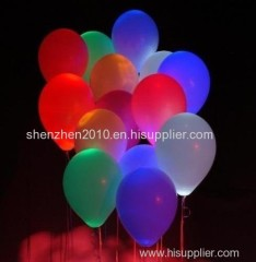 12inch party christmas led light up flashing balloons