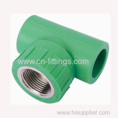 ppr female tee pipe fittings