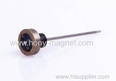 Strong sintered rare earth magnet