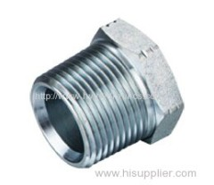 Carbon steel BSPT male Plug
