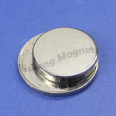 N45 neodymium magnets D18 x 3mm +/- 0.1mm magnetic disc magnet industry NiCuNi and epoxy coated